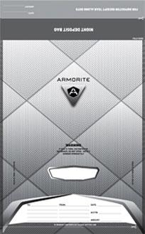 Armorite Night Deposit Bags
