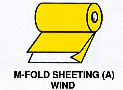 M-Fold Sheeting (A) wind