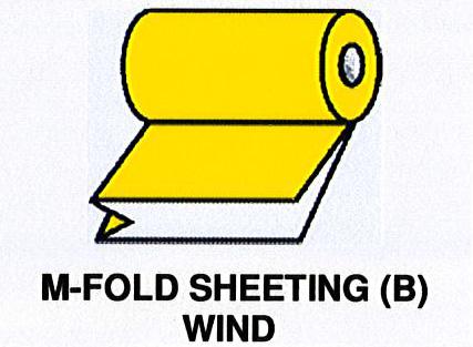 M-Fold Sheeting (B) wind