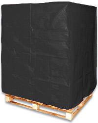 pallet cover black