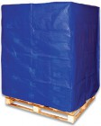 pallet cover blue