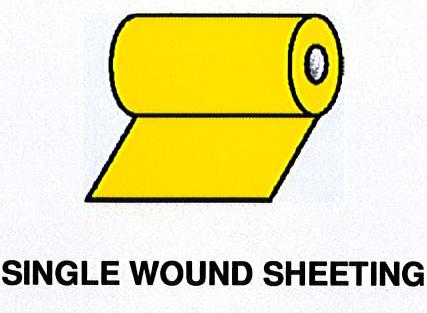 Single Wound Sheeting