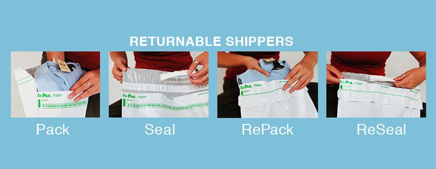 Returnable shippers