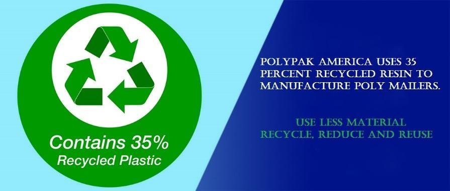 recycled content in poly bags